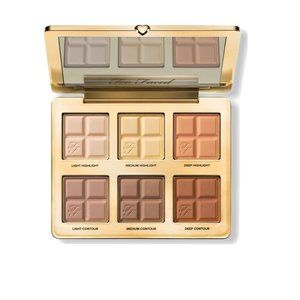 Too Faced Cocoa Contour Palette New in Box with 6